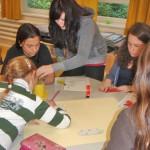 Schulimkerei zusammen mit Schülern der 9. Klasse