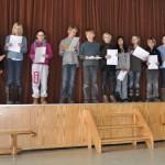 Applaus für die Sieger aus Klasse 4_2